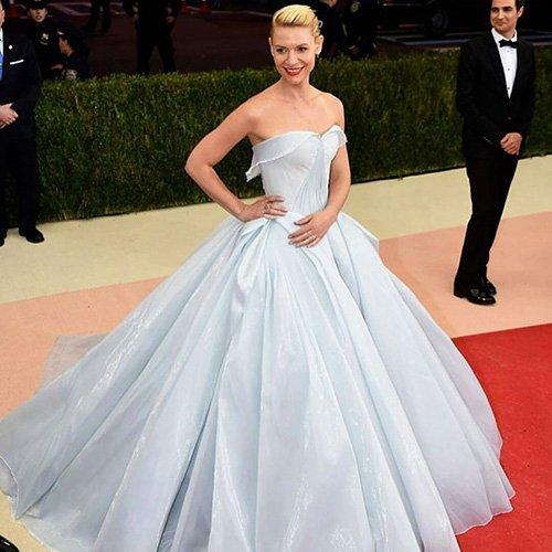 Невероятное платье с сюрпризом. Бал Met Gala. Клер Дейнс