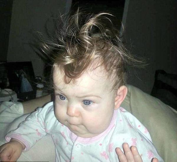 Прически для малышей смешные фото