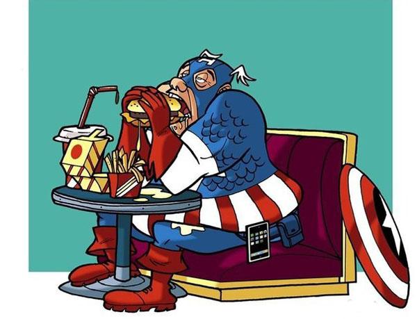 Подборка супергерои на пенсии