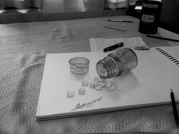 пошлые рисунки карандашом: