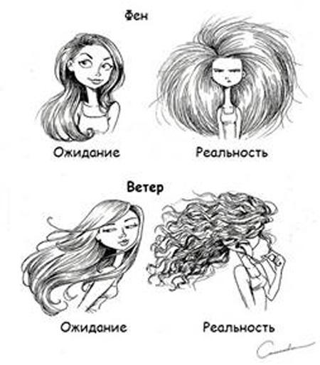 Прически & девушки & реальность