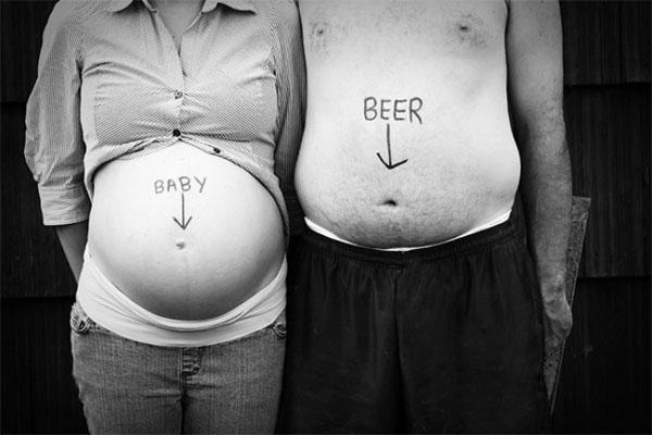 Беременность прикольные фото