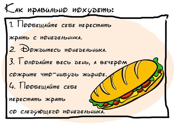 прикольные картинки про диету: