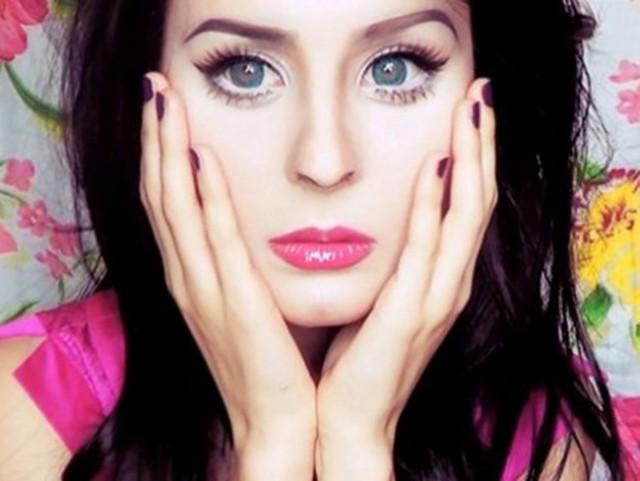 Фото анастасия шпагина макияж