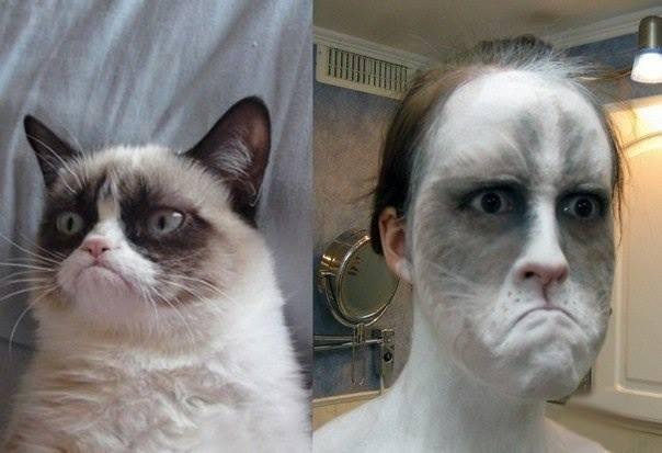 Креативний макияж на Хэллоуин