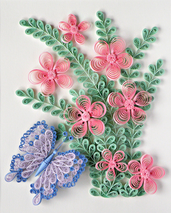 Цветы квиллинг своими руками со схемами