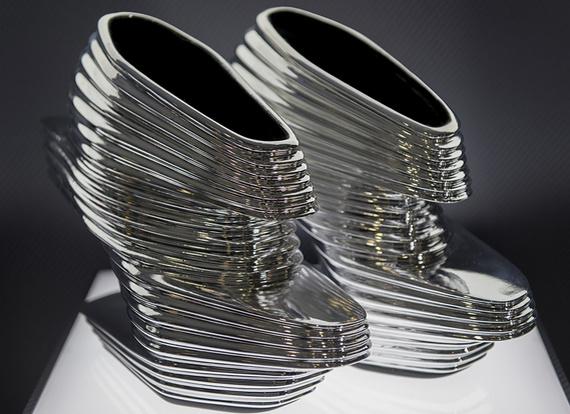 Виставка футуристичного взуття