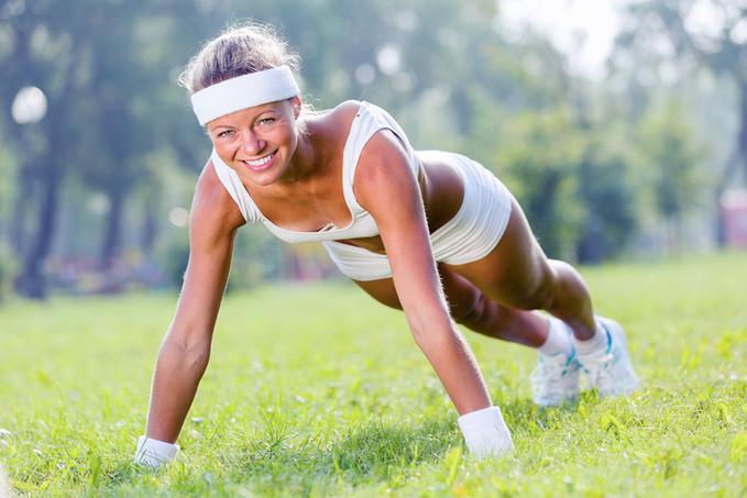 Як набрати м'язову масу жінці