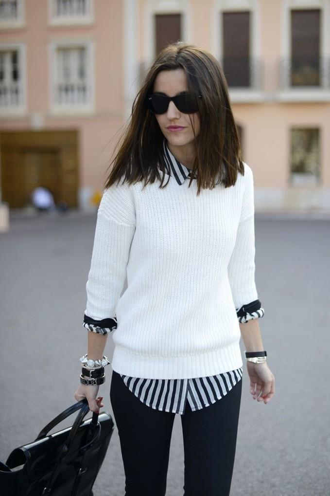 C чем носить вещи в полоску осенью:  вдохновляемся стильными образами