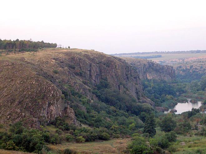 Скалолазание в Украине: Живописные скалы Южноукраинска
