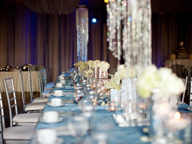 Модные свадебные оттенки: ice blue