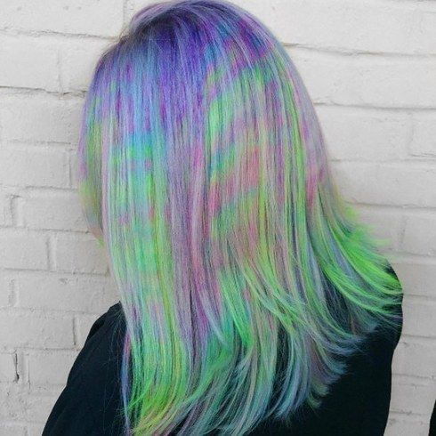 Мармурування волосся