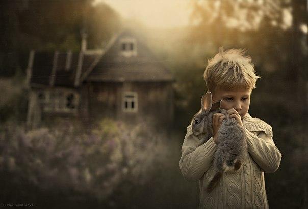 Потрясающее детство в деревне от Елены Шумиловой
