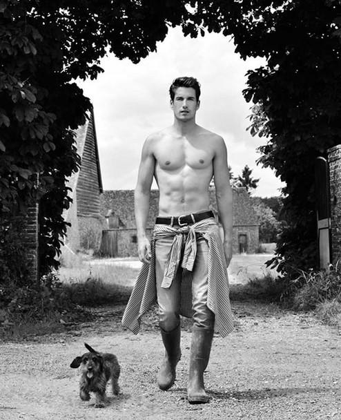 французские фермеры в фотосессии