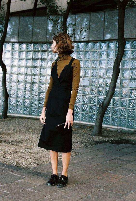 Як носити сукню взимку