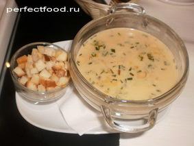 Грибной крем-суп с шампиньонами или лесными грибами