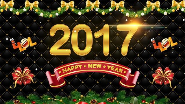 Открытки к Новому году 2017