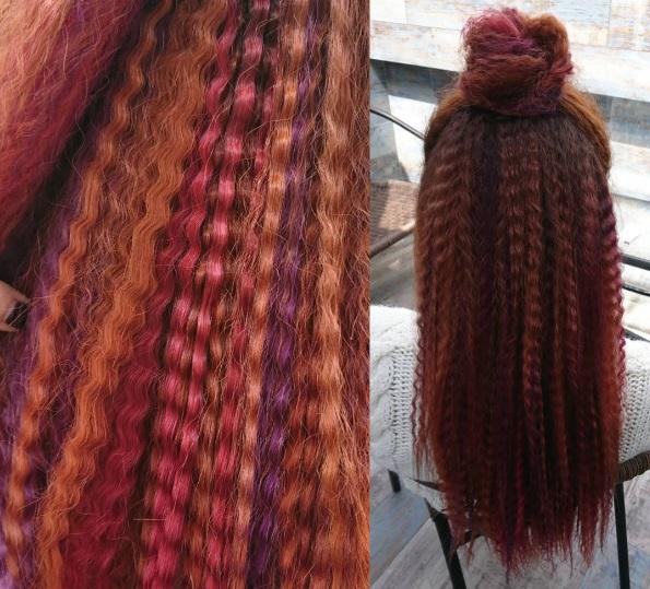 Гофре на волоссі