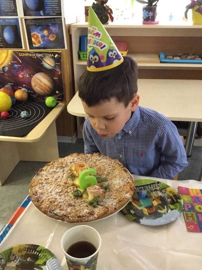 Григорий Решетник рассказал, как его старший сын отпраздновал 6-й день рождения