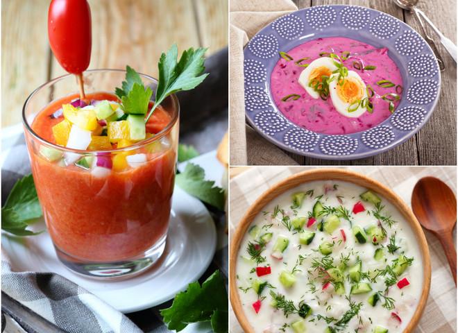 3 самих охолоджуючих супів для спекотного дня