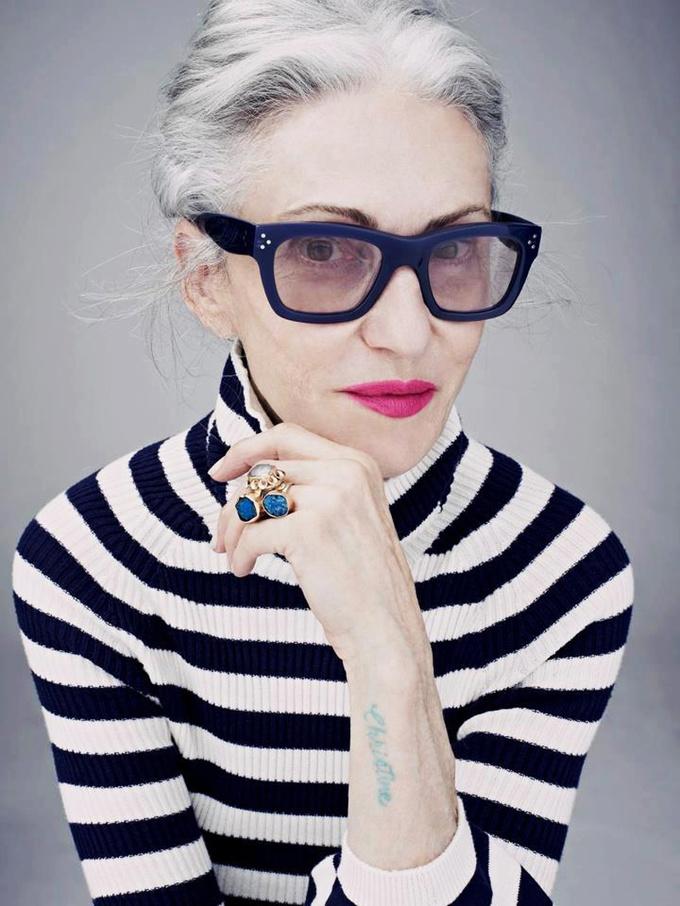 Модели в возрасте: Линда Родин