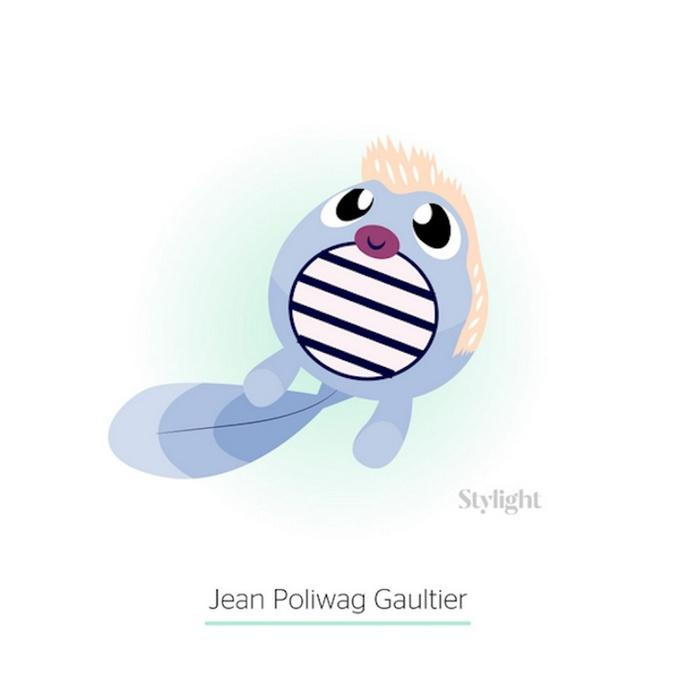 Жан-Поль Готье в образе покемона