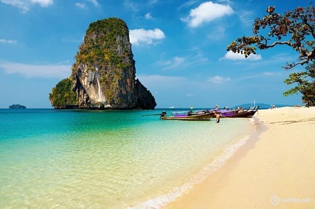 Где тепло зимой: Прананг, Тайланд