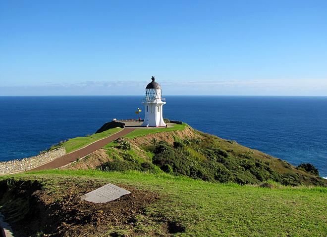 Готелі на маяках: промінчик світла в морі - the lighthouse, New zealand