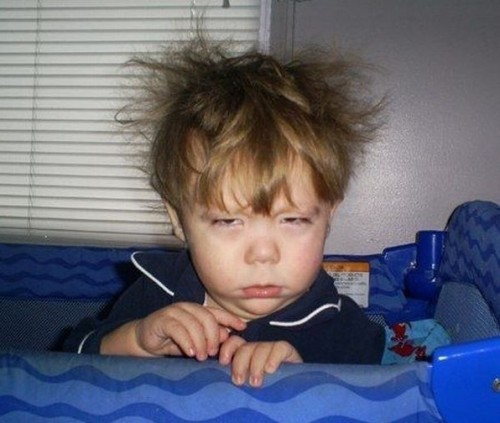 Тяжелое утро после пьянки...