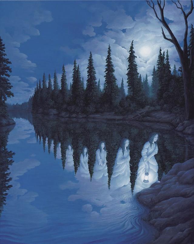 ТОП 9 фантастических оптических иллюзий