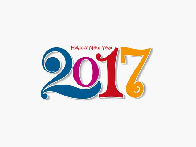 Милые открытки на Новый год 2017
