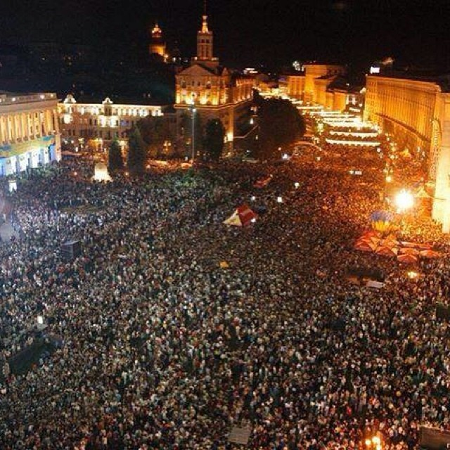 Річниця Євромайдану: пам'ятні моменти