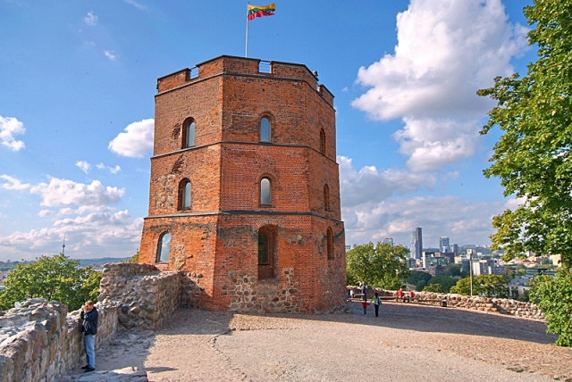 Цікаві місця Вільнюса: Вежа Гедімінаса