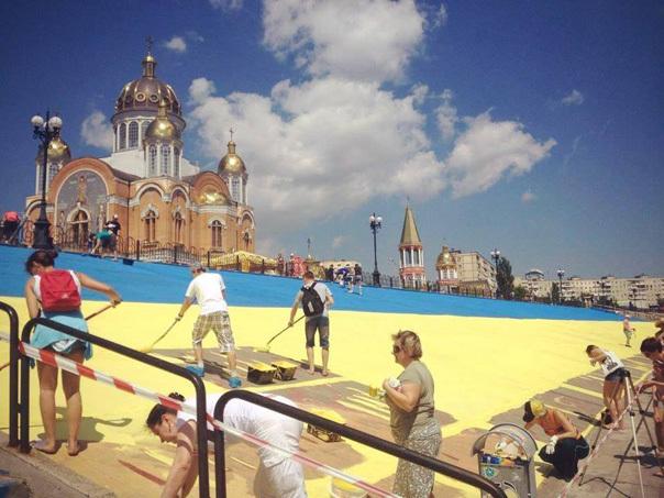 Всего лишь 500 литров краски и лучшая набережная Украины
