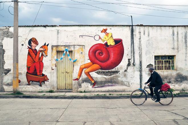 Interesni kazki: где искать стрит-арт украинских муралистов
