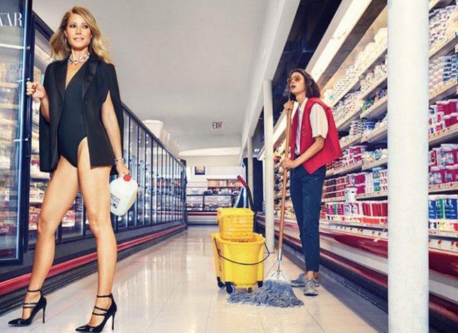 Гвінет Пелтроу в сексуальній фотосесії для Harper`s Bazaar