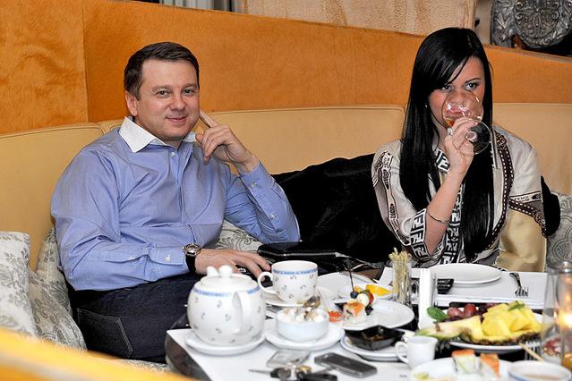 Тусовка в ресторане Москва