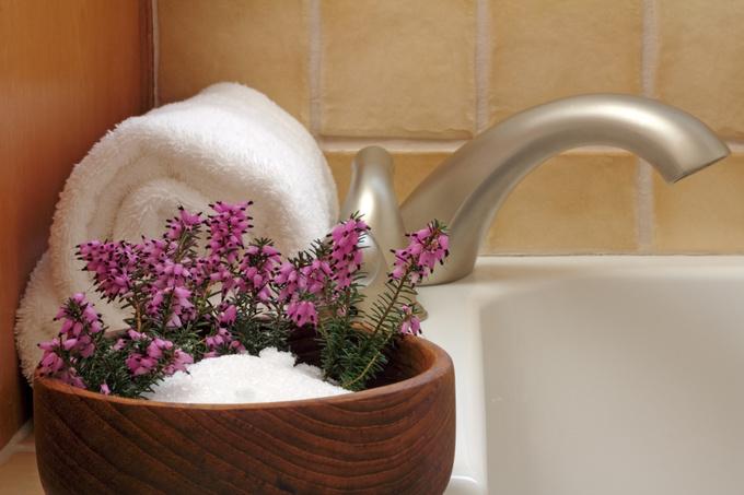 Ванночка для ніг з содою