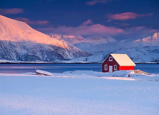 Сбежать в зиму на край Земли