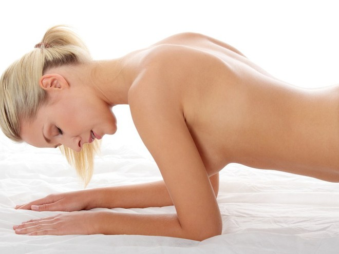 грудь женщины