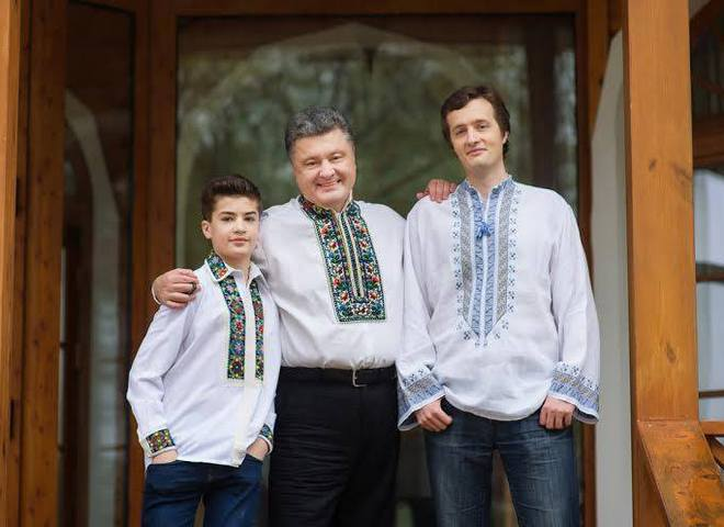 Сын Порошенко