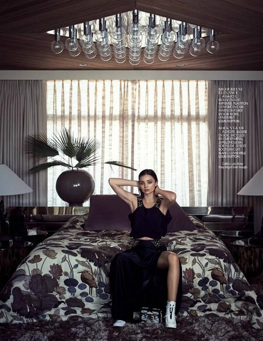 Миранда Керр для Madame Figaro