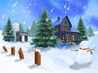 Обои на Рождество 2015