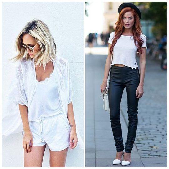 Як вибрати білу футболку