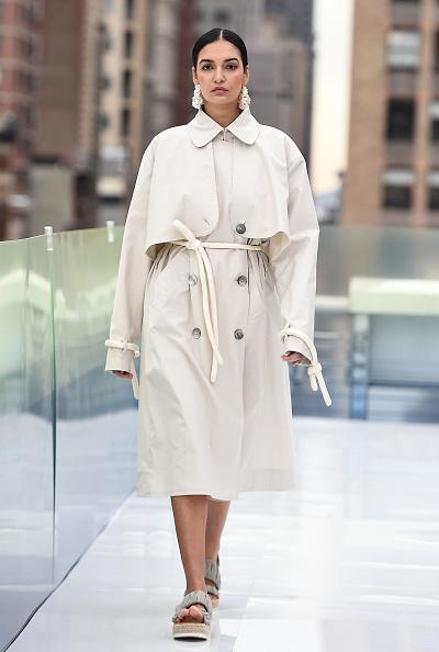 Модный тренч Off-White
