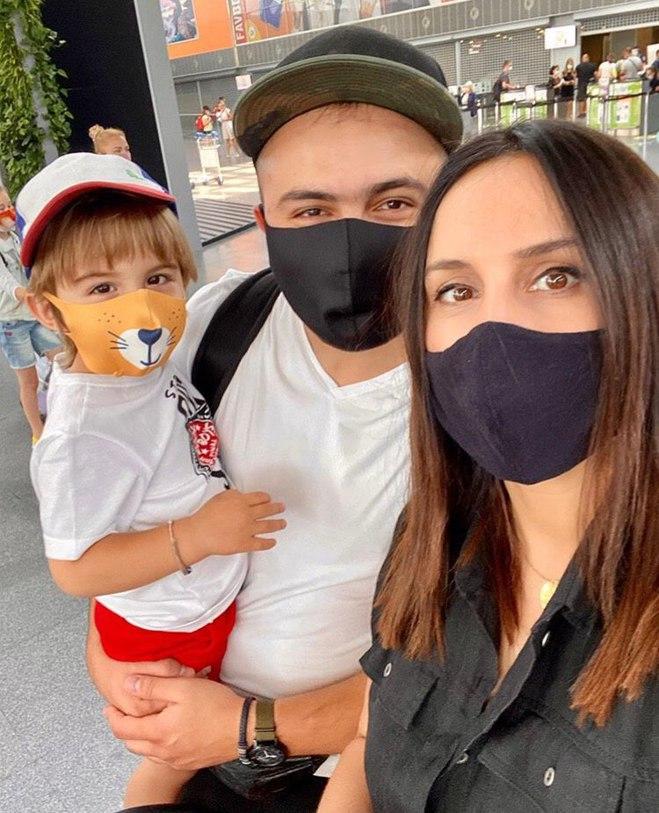 Джамала вирушила у відпустку з родиною