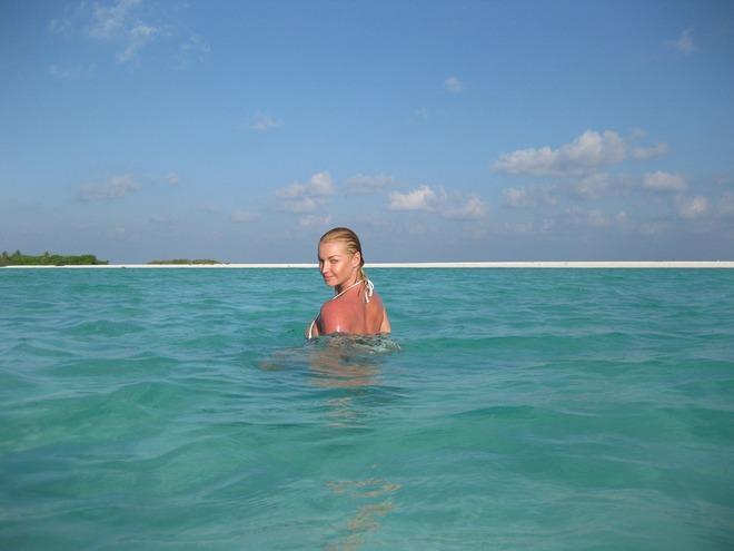 Волочкова на Мальдивах