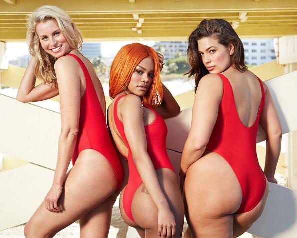 Эшли Грэм для Swimsuits For All