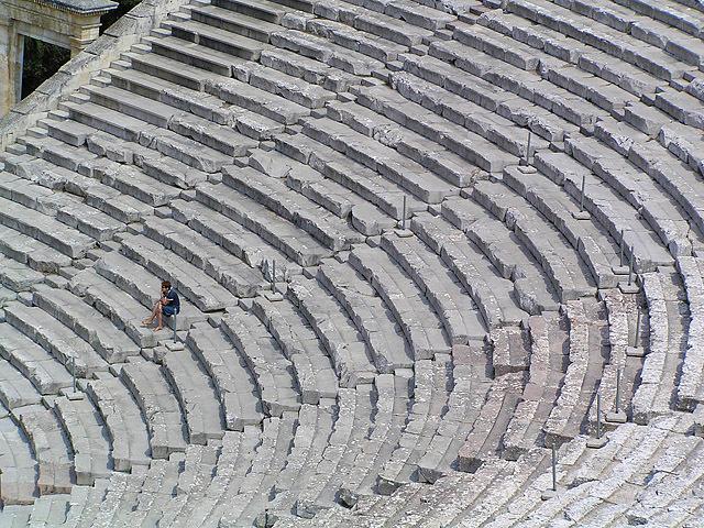 Цікаві місця Греції: Театр Епідавра