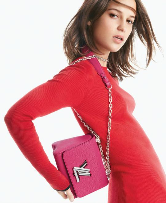 Алісія Вікандер в рекламі Louis Vuitton